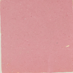 Zellige Rose Rouge 10x10cm