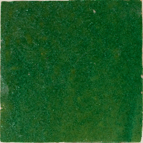 Zellige Vert Foncee 10x10cm