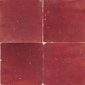 Zellige Rouge 5x5cm