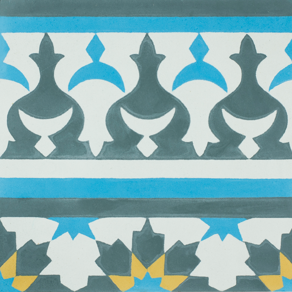 VN Azule 01 Maroc Border - Płytki 20x20