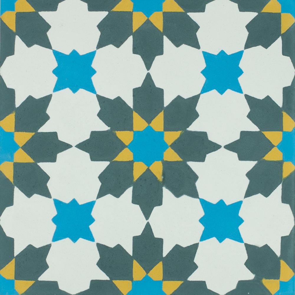 VN Azule 01 Maroc - Płytki cementowe (enkaustyczne)