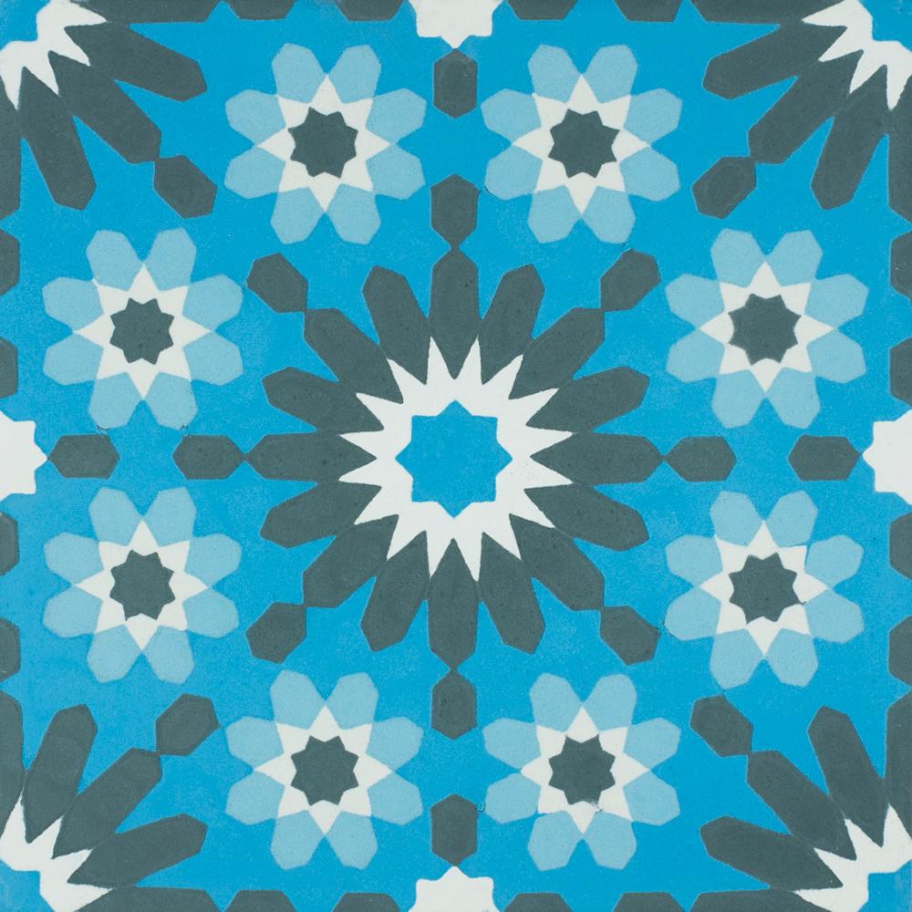 VN Azule 13 - Płytki cementowe (enkaustyczne)