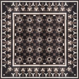 VN Negra 20 Corner - Płytki cementowe (enkaustyczne)