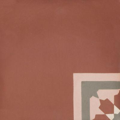 VN Pink 06 Corner Egal - Płytki cementowe (enkaustyczne)