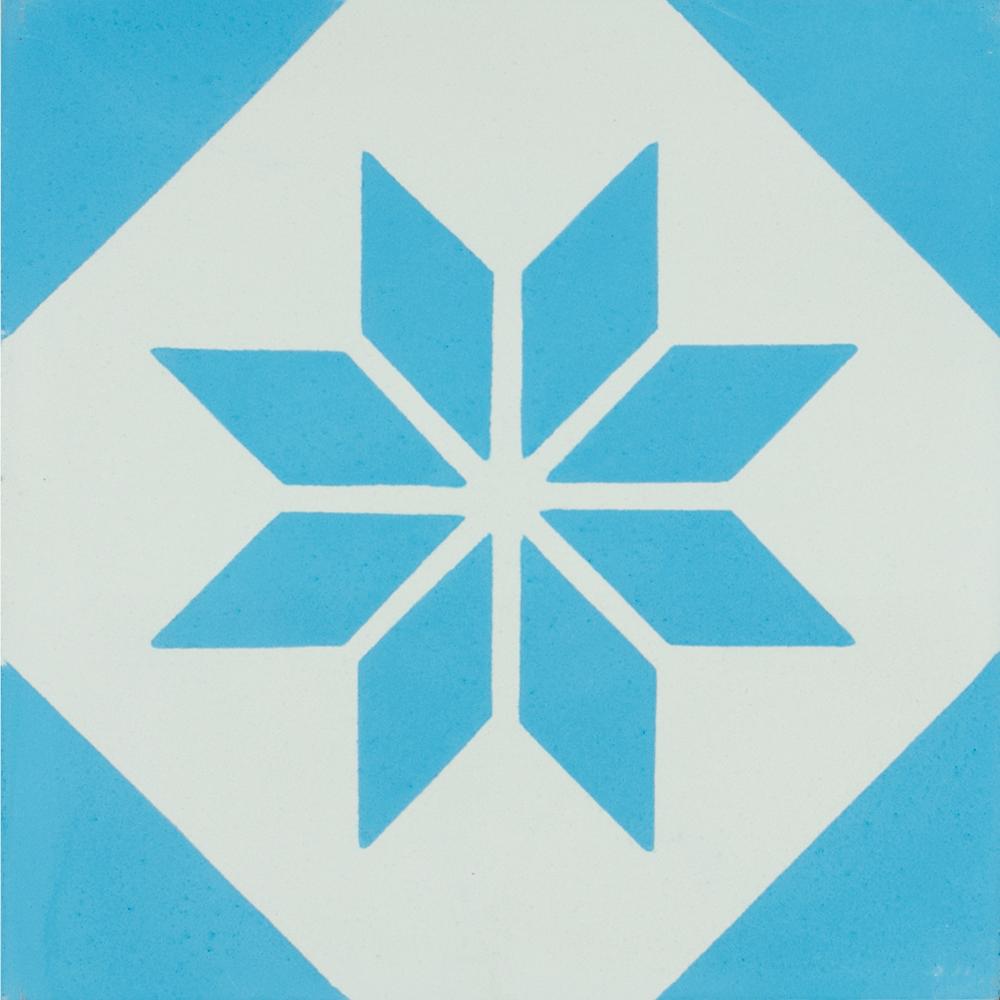 VN Azule 05 - Płytki cementowe (enkaustyczne)