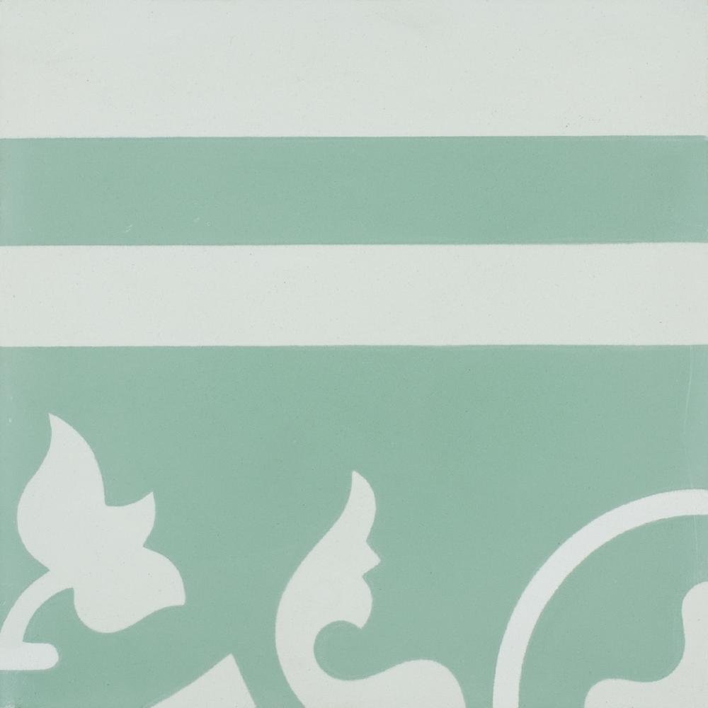 VN Azule 27 Olive Border R - Płytki 20x20