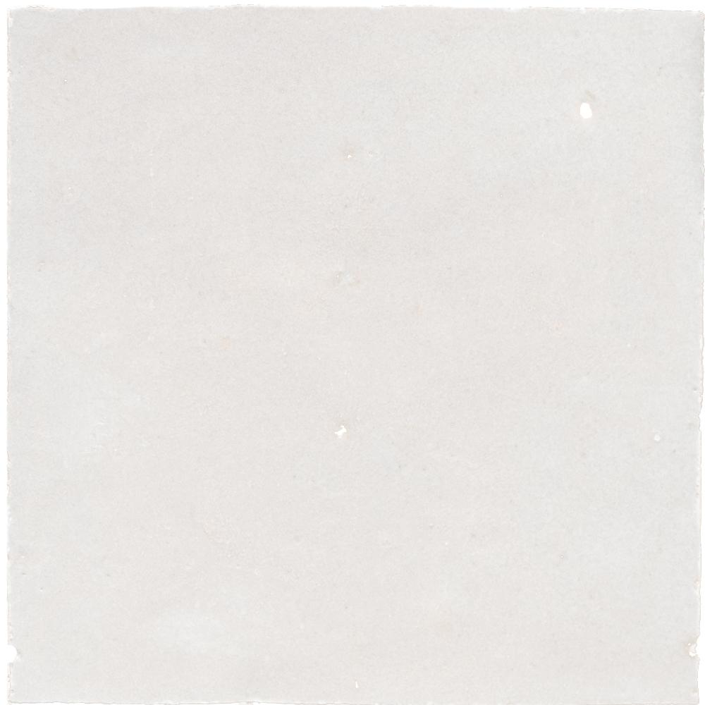 Zellige Blanc 10x10cm - Marokańskie płytki ścienne