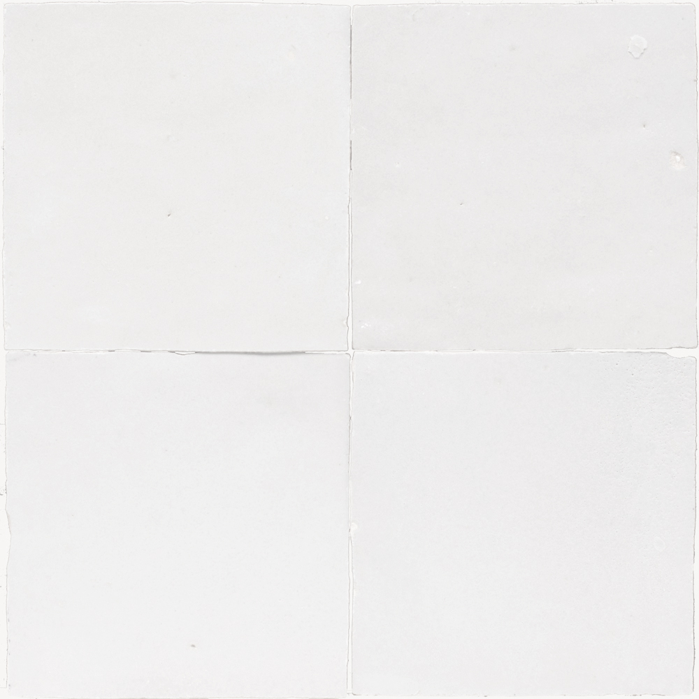 Zellige Blanc 5x5cm - Zelliges