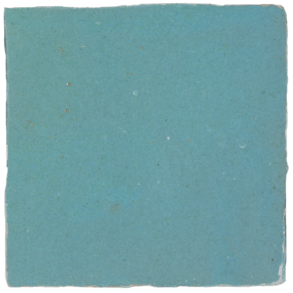 Zellige Bleu Ciel 10x10cm - Marokańskie płytki ścienne