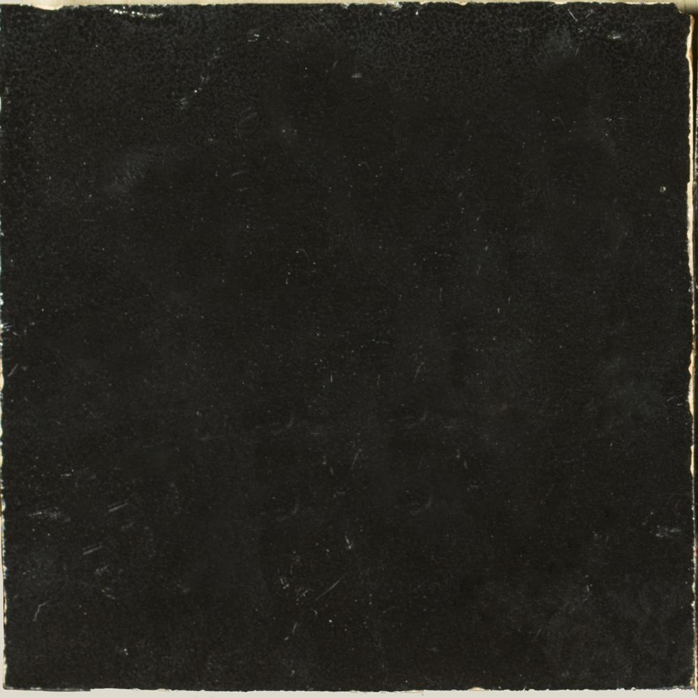 Zellige Noir 10x10cm - Marokańskie płytki ścienne