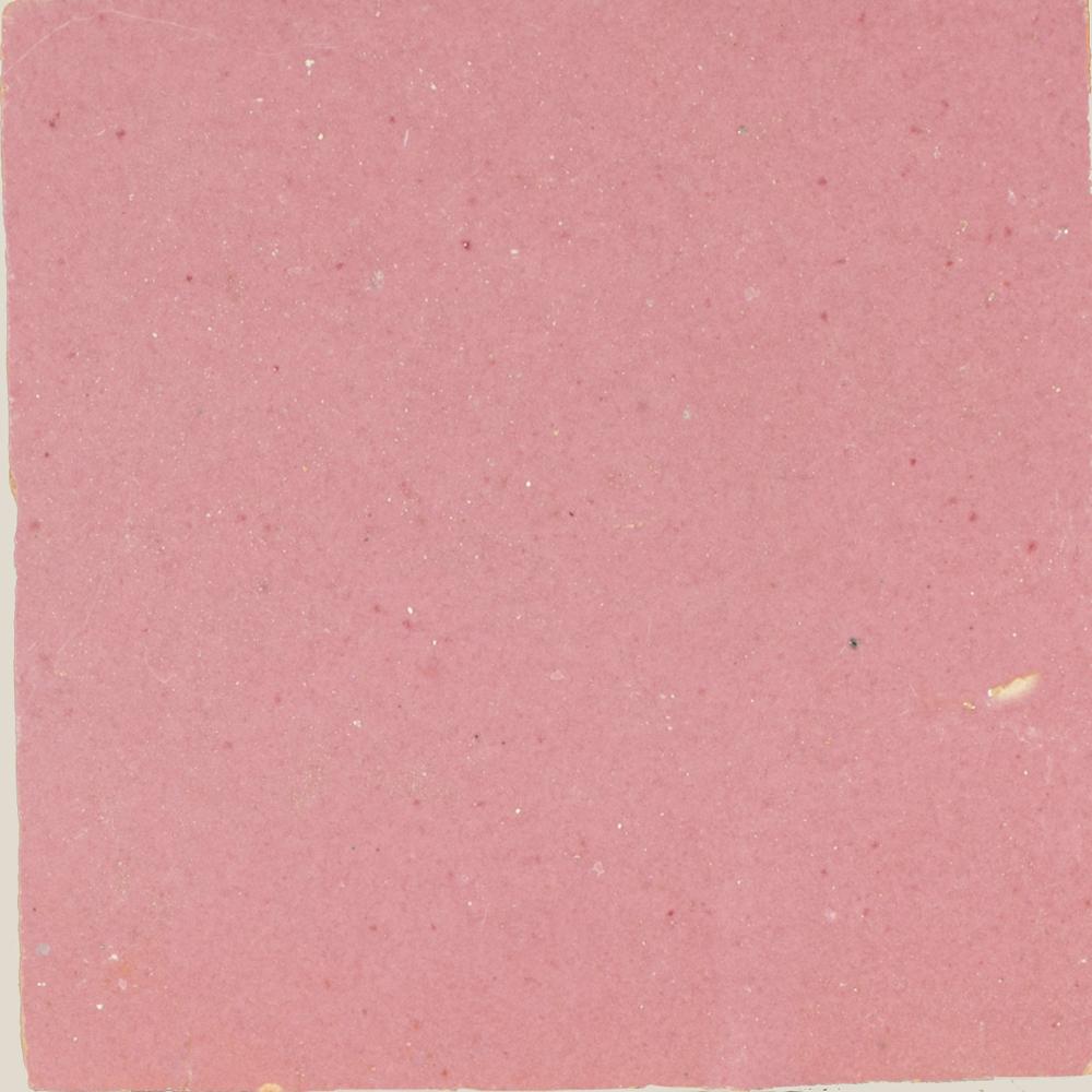 Zellige Rose Rouge 10x10cm - Zelliges