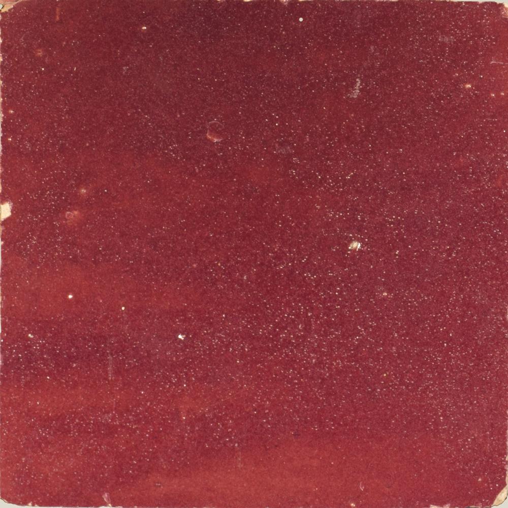 Zellige Rouge 10x10cm - Zelliges