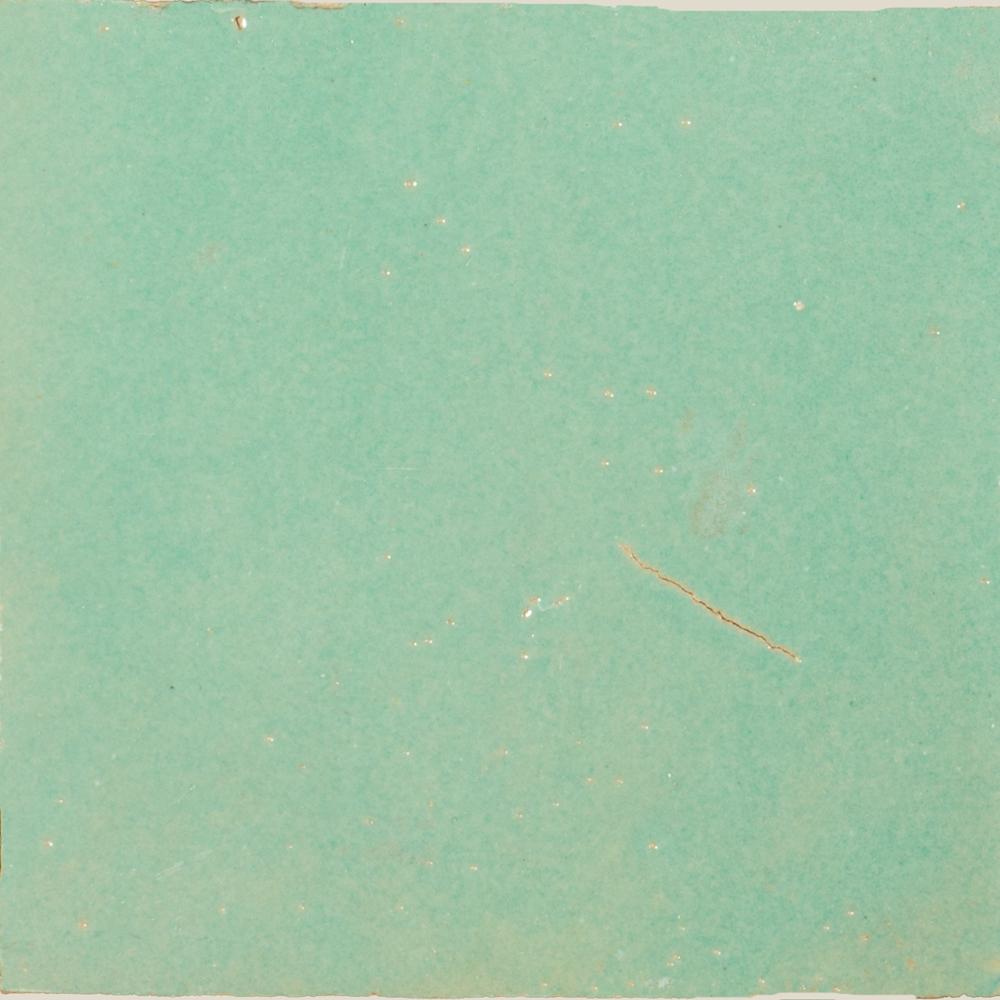 Zellige Turquoise 10x10cm - Zelliges