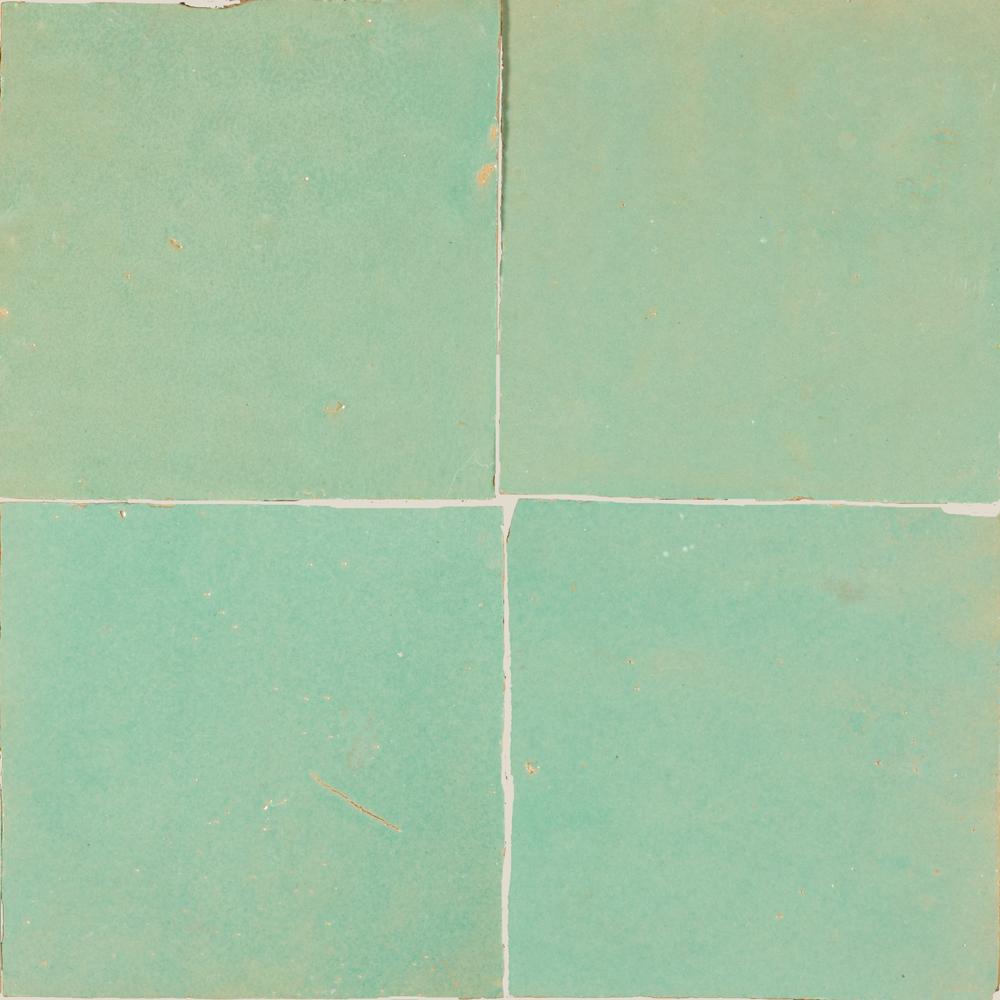 Zellige Turquoise 5x5cm - Zelliges