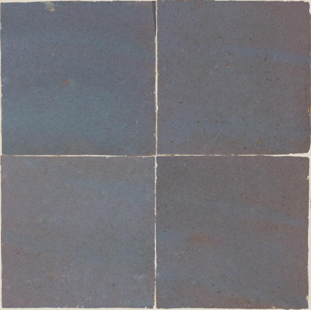 Zellige Gris Aubergine 5x5cm - Marokańskie płytki ścienne