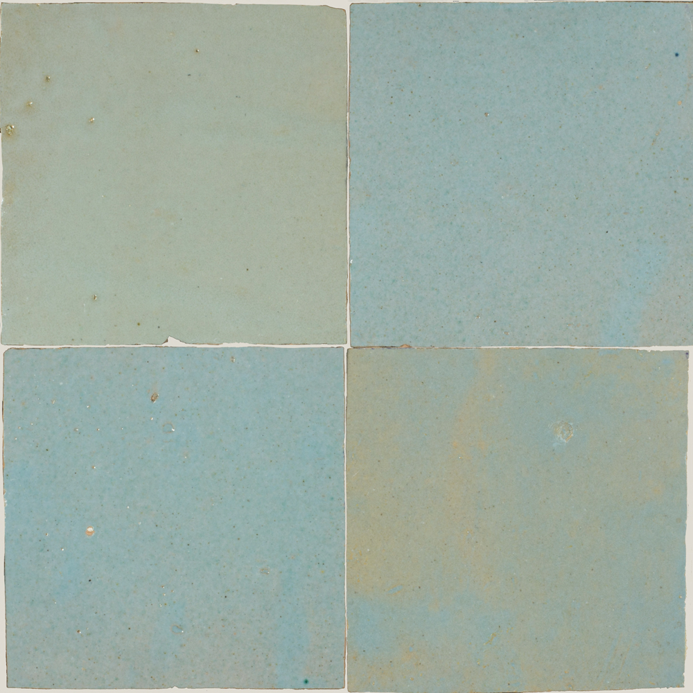 Zellige Bleu Lumiere 5x5cm - Marokańskie płytki ścienne