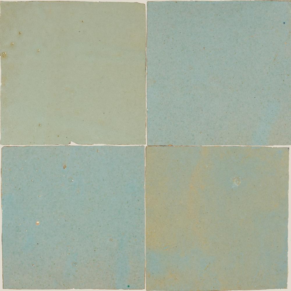 Zellige Vert Clair 5x5cm - Marokańskie płytki ścienne