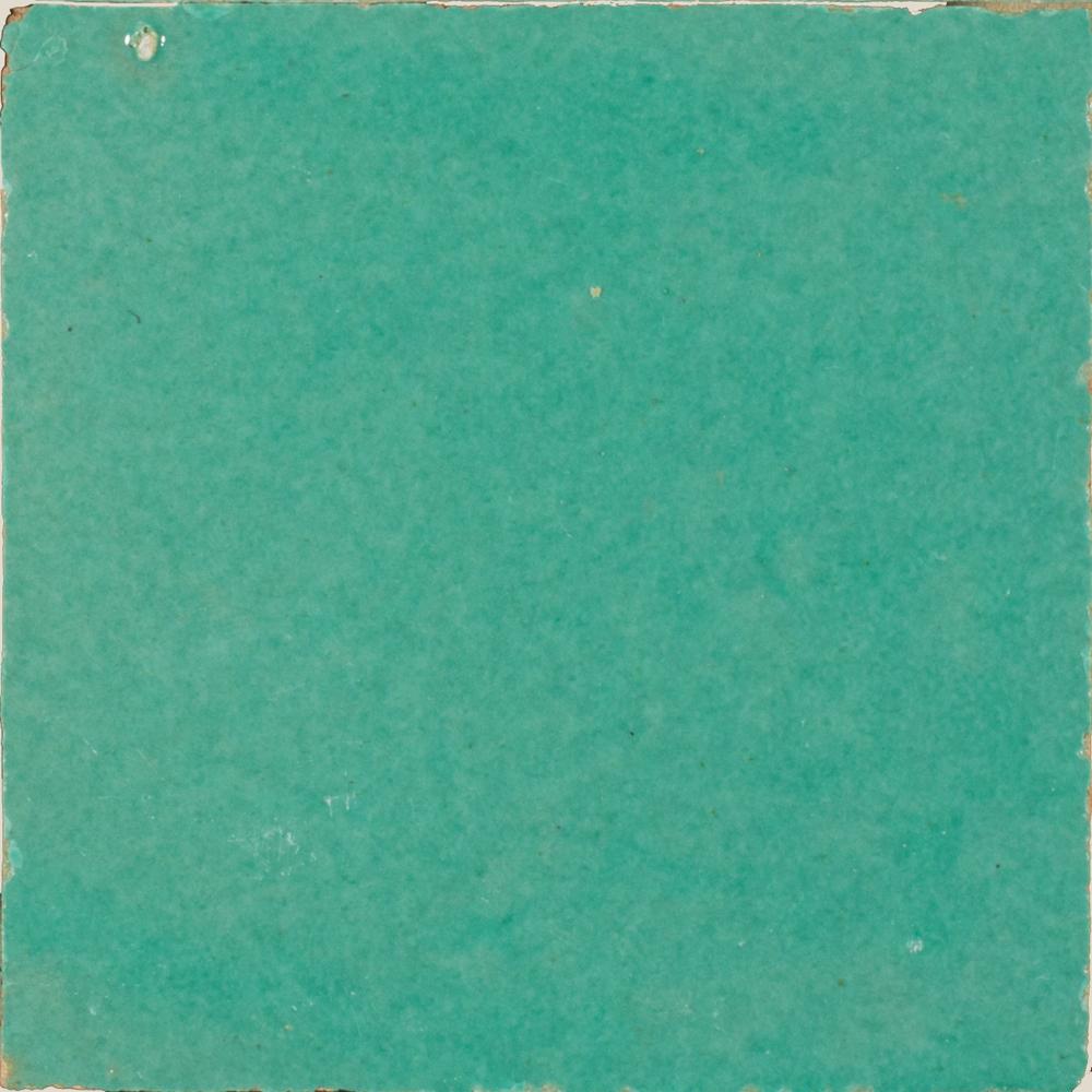 Zellige Vert Turquoise 10x10cm - Marokańskie płytki ścienne