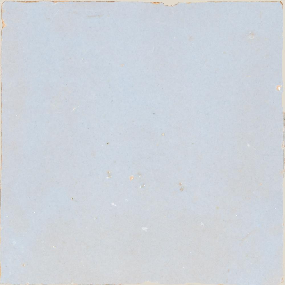 Zellige Pastel Bleu 10x10cm - Zelliges