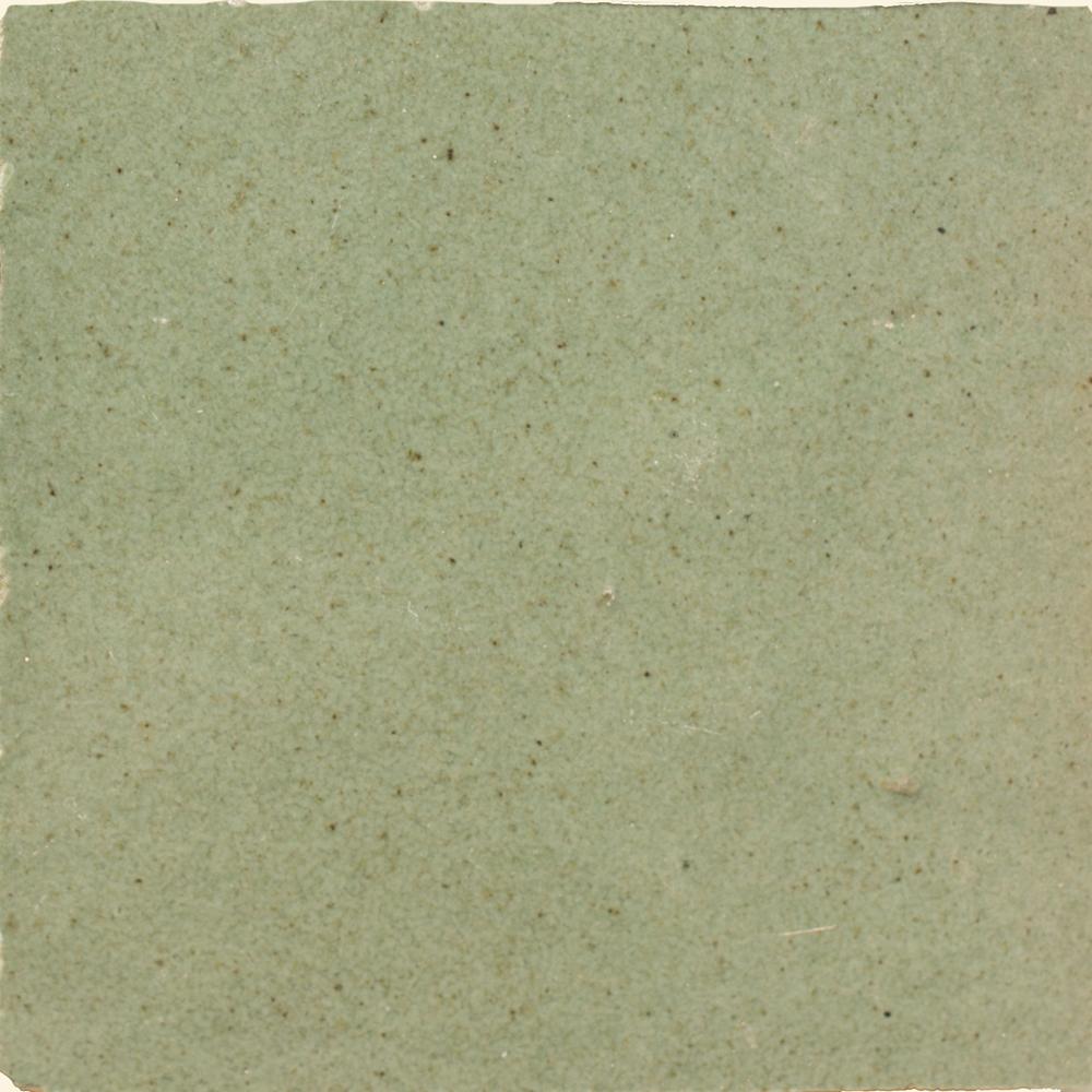 Zellige Vert Gris 10x10cm - Marokańskie płytki ścienne