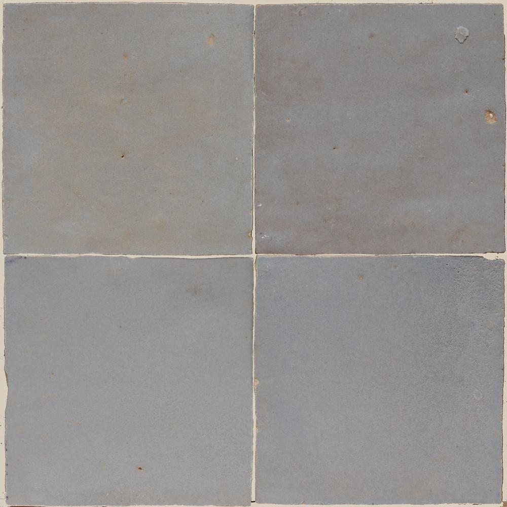 Zellige Ciment 5x5cm - Marokańskie płytki ścienne