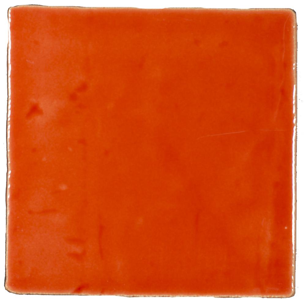 Azulejos Naranja T-5 - Azulejlos
