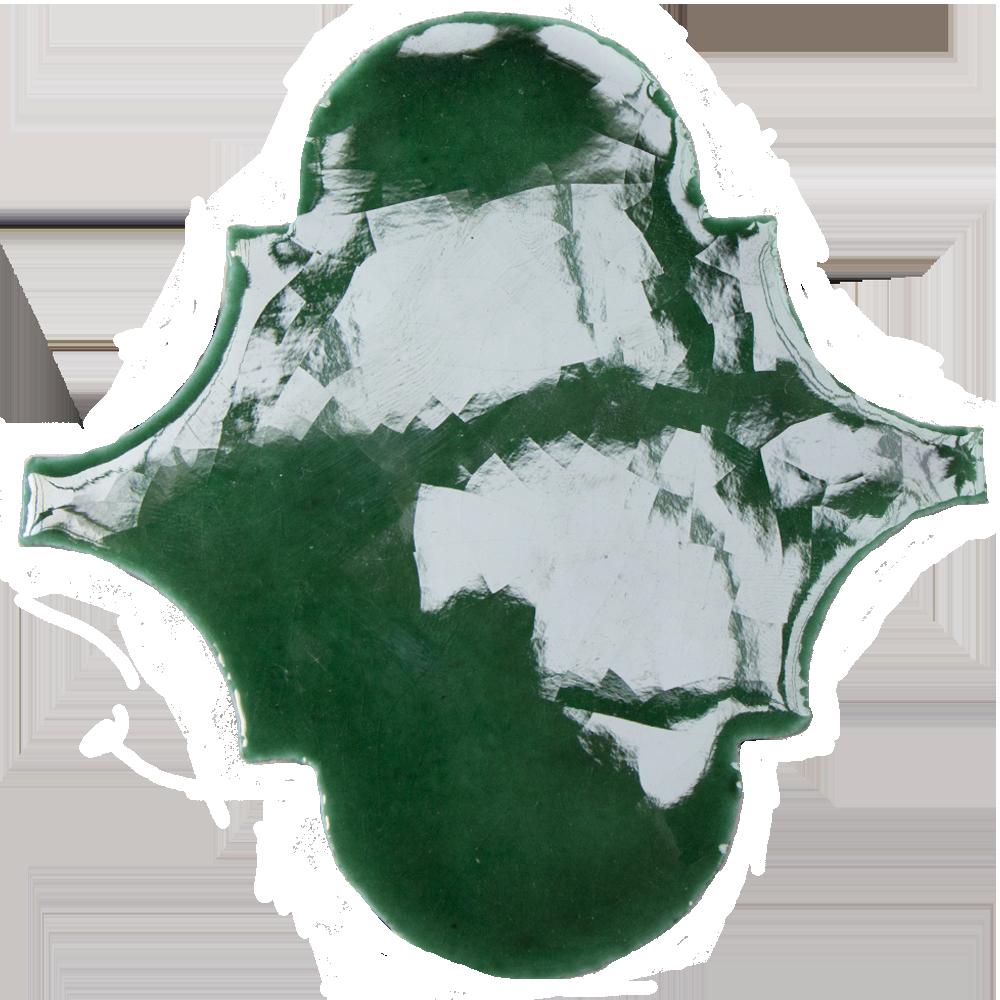 Azulejos Laterna Verde Cobre - Azulejlos