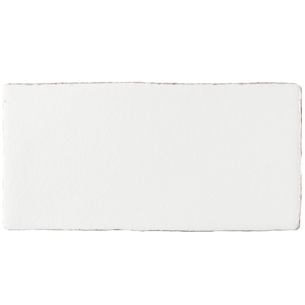 Azulejos AT Manual Craquelé Blanco 7.5x15 - Azulejlos