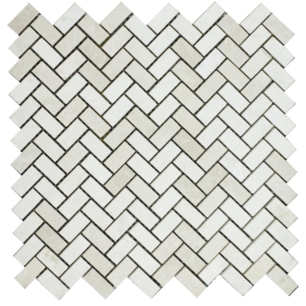 Mosaic Herringbone Bottocino - Mozaika