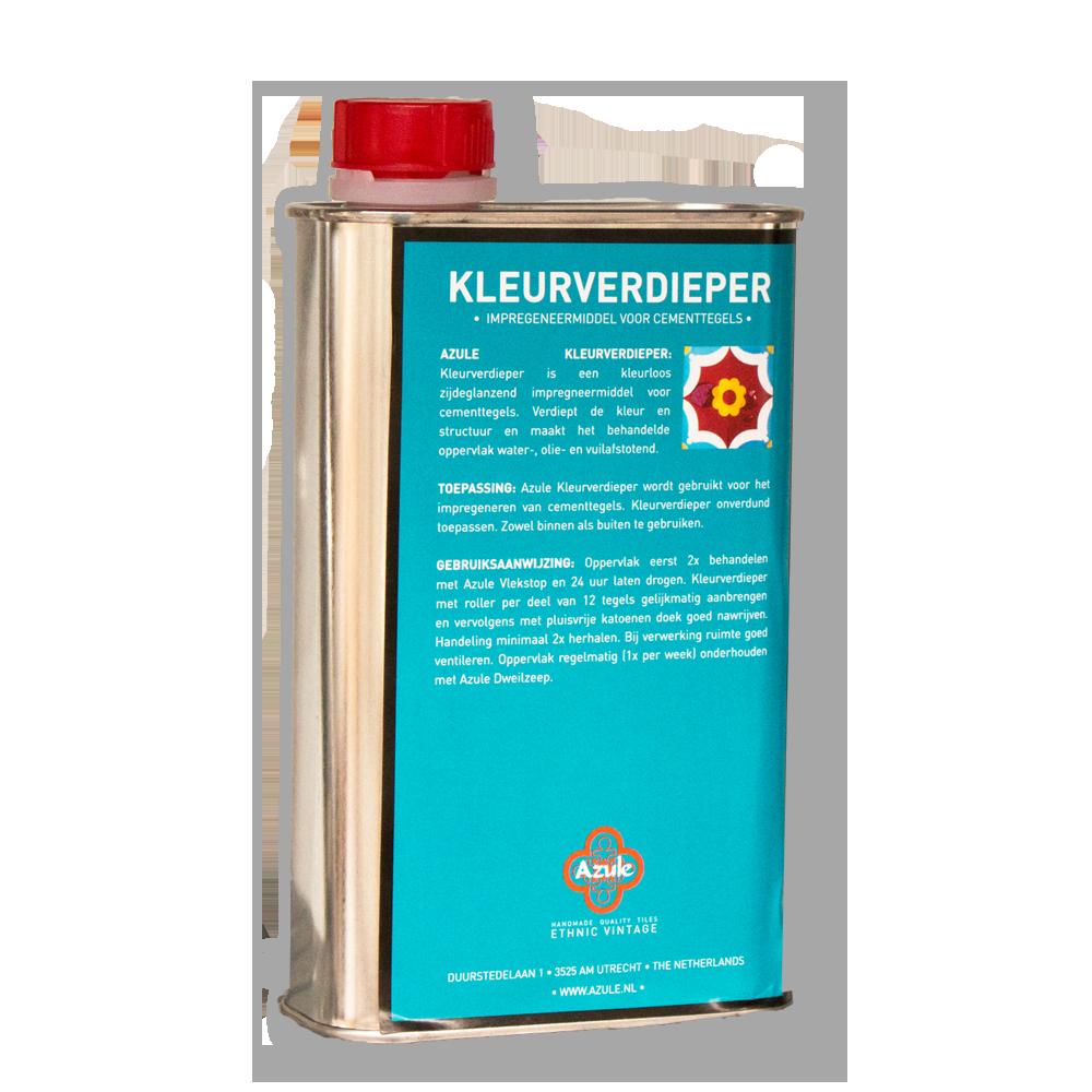 Azule Kleurverdieper 0.5 liter - Konserwacja