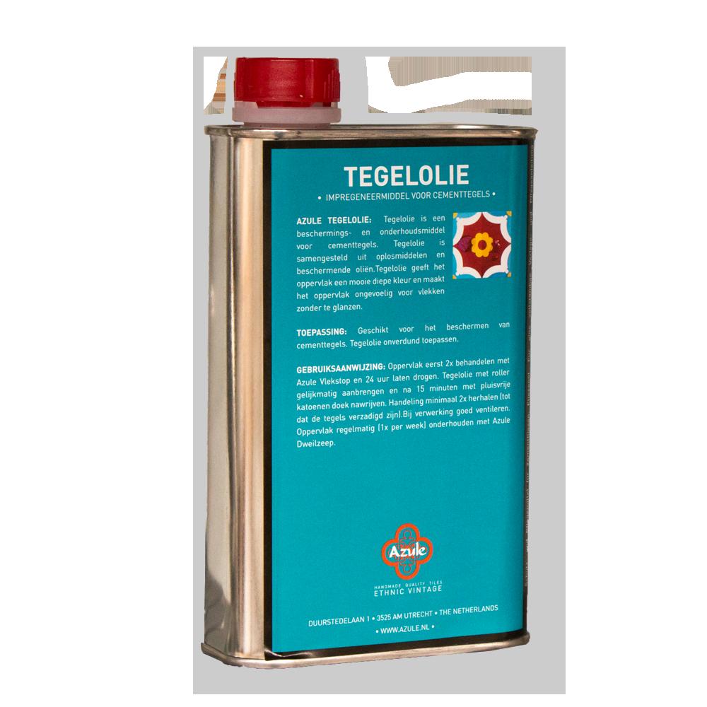 Azule Tegelolie 0,5 liter - Konserwacja