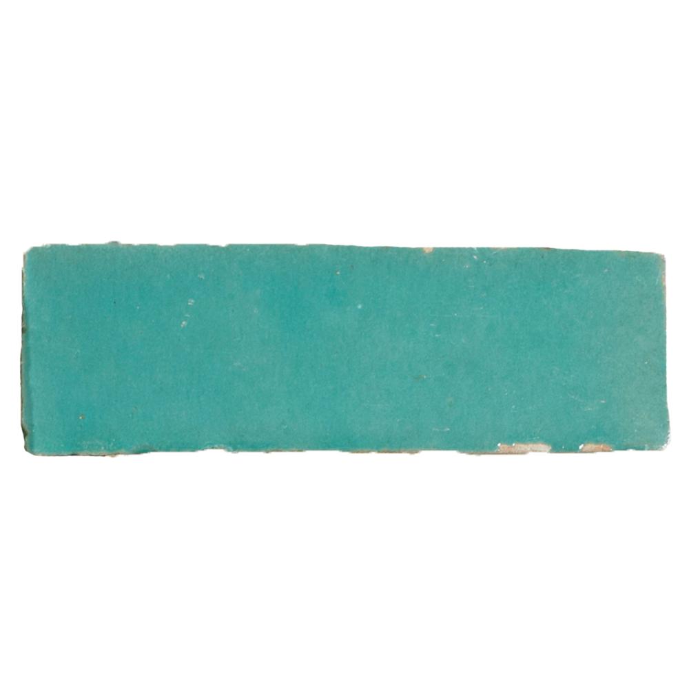 Bejmat Vert Turquoise - Marokańskie płytki szkliwione (Bejmat)