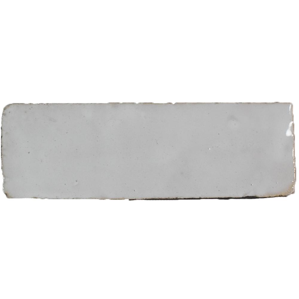 Bejmat Neige Blanc - Marokańskie płytki szkliwione (Bejmat)