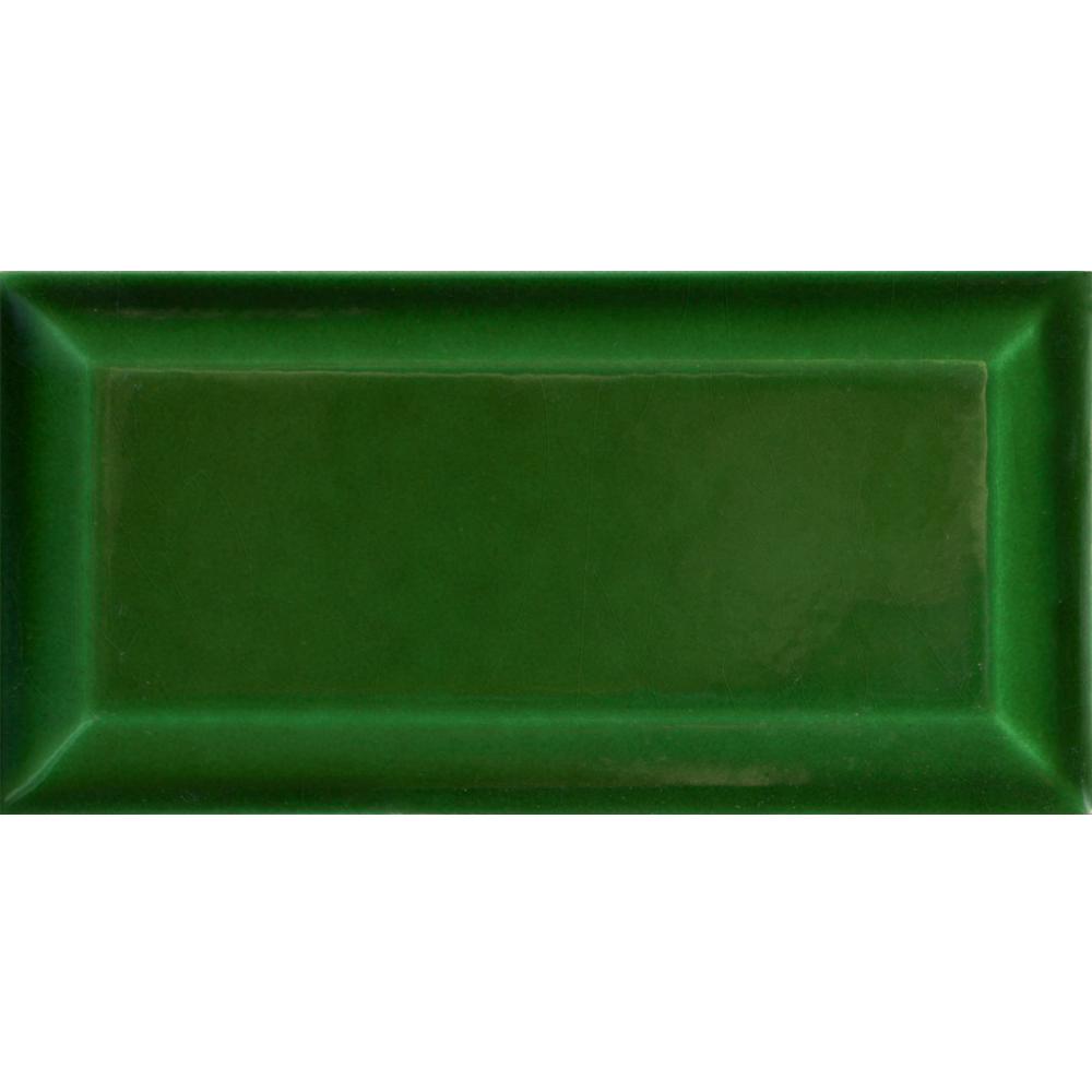 Metro AT Biselado Verde Cobre 7.5x15 - Płytki 14x14